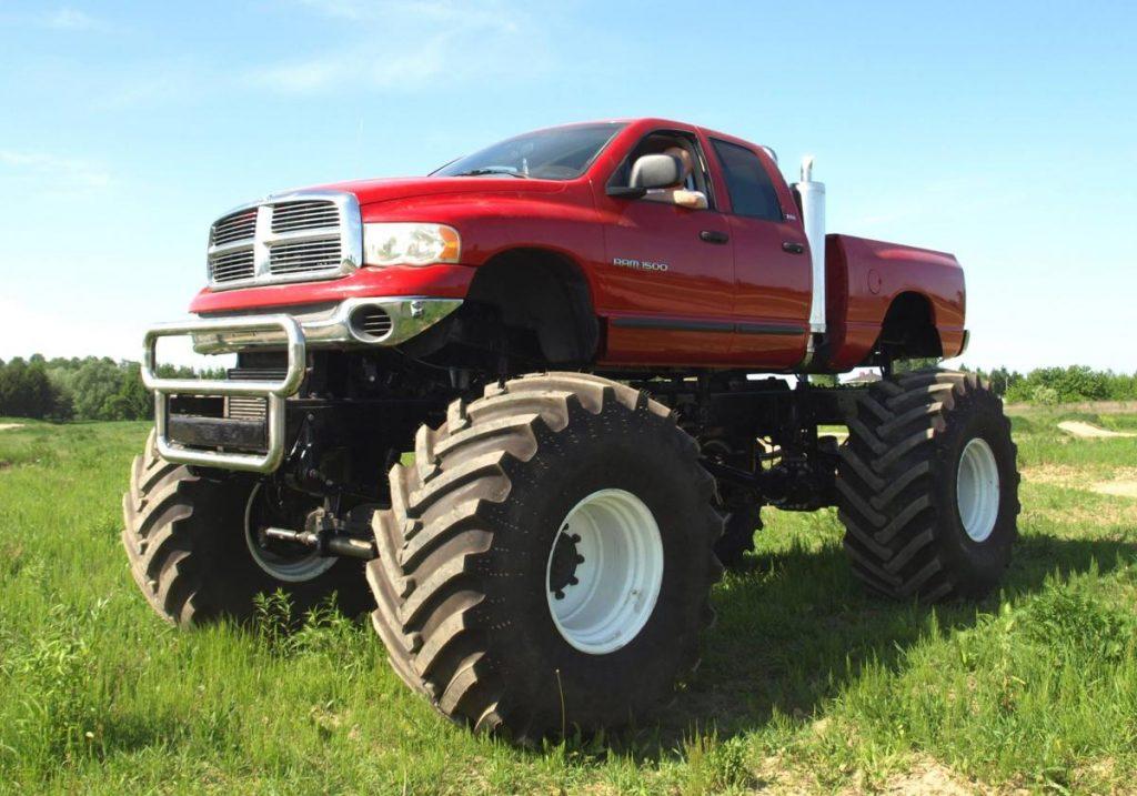 monster truck prezent